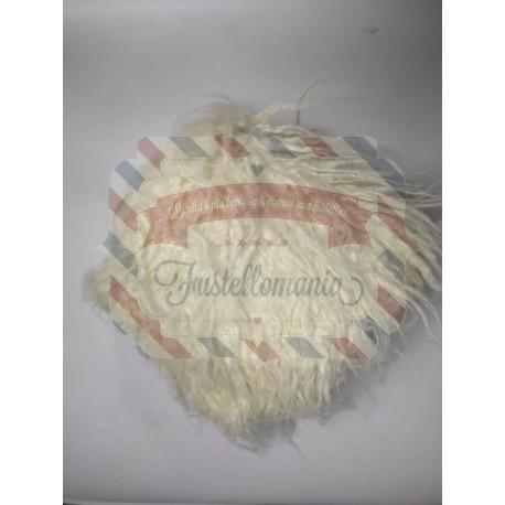 Barba bianca per gnomi 30x15 cm