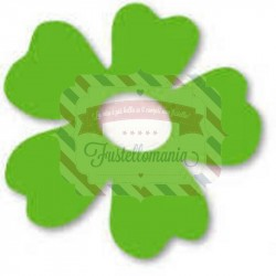 Fustella Sizzix Originals Green Fiore 1