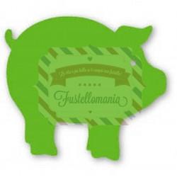 Fustella Sizzix Originals Green Maialino
