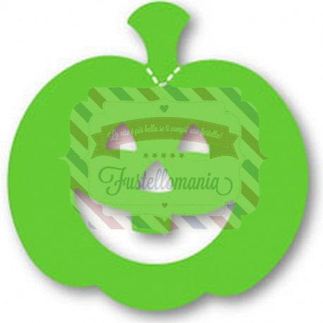 Fustella Sizzix Originals Green Zucca Halloween