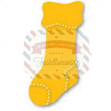 Fustella Sizzix Originals Yellow Calzino