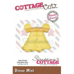 Fustella metallica Cottage Cutz Dress Mini