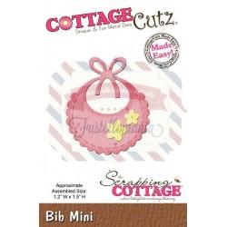 Fustella metallica Cottage Cutz Bib Mini