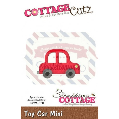 Fustella metallica Cottage Cutz Toy car mini