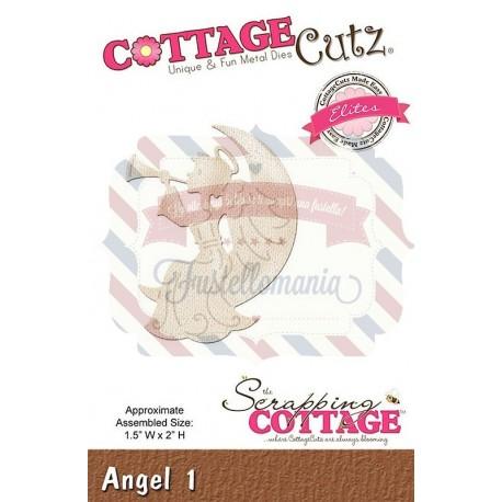 Fustella metallica Cottage Cutz Angel 1