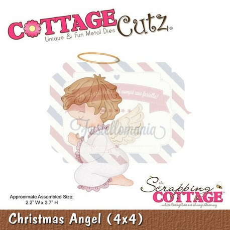 Fustella metallica Cottage Cutz Christmas Angel