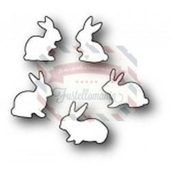 Fustella metallica Memory Box Baby Bunnies