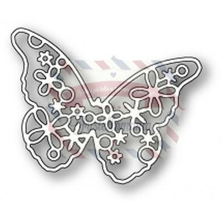 Fustella metallica Memory Box Brigitte Butterfly