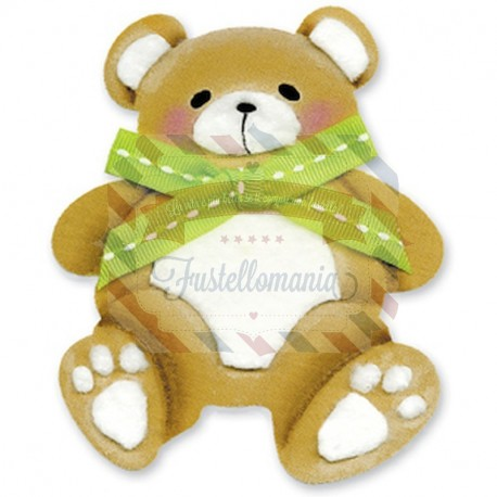 Fustella Sizzix Originals Orsetto Teddy Bear 2