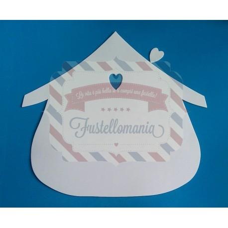 Fustella PRO Casetta con cuore
