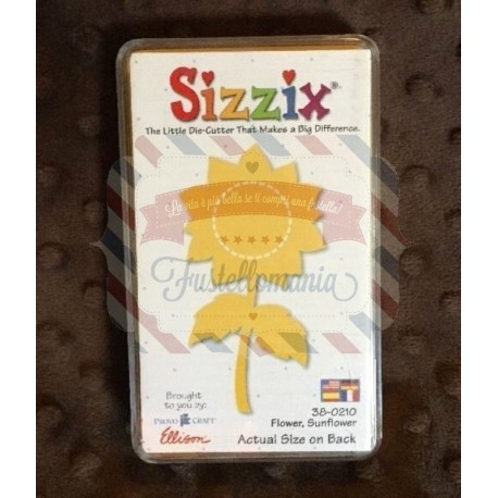 Fustella Sizzix Originals Yellow Fiore