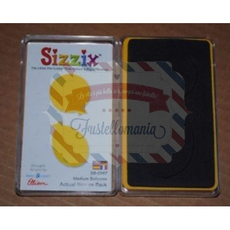 Fustella Sizzix Originals Yellow Palloncini