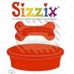 Fustella Sizzix Originals Ciotola cane e Osso
