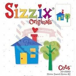 Fustella Sizzix Originals Casa dolce casa 2