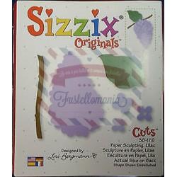 Fustella Sizzix Originals Sculture di carta Lilla