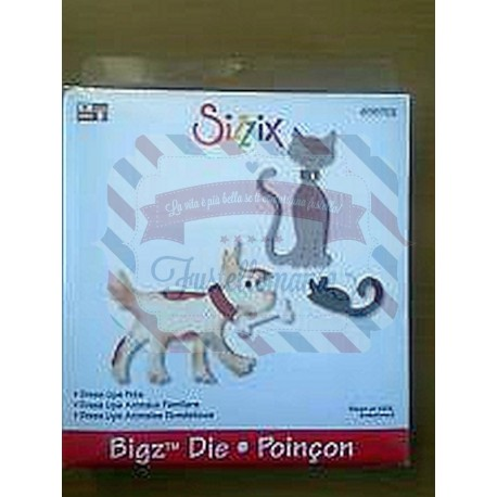 Fustella Sizzix Bigz Dress Ups Animali domestici Pets