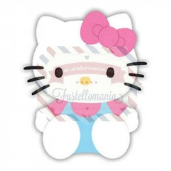 Fustella Sizzix Originals Hello Kitty