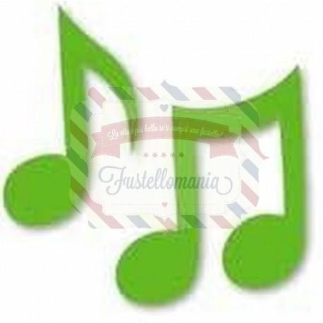 Fustella Sizzix Originals Green Note musicali