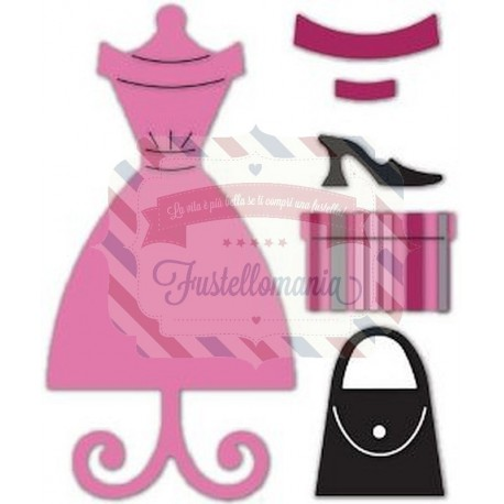 Fustella Sizzix Originals Vestito e accessori