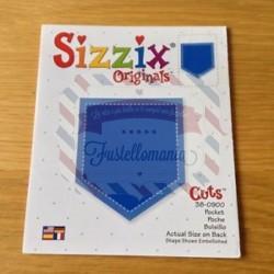 Fustella Sizzix Originals Tasca jeans