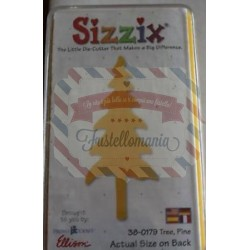 Fustella Sizzix Originals Yellow Albero abete