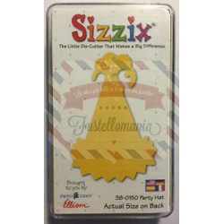 Fustella Sizzix Originals Yellow Cappello da party