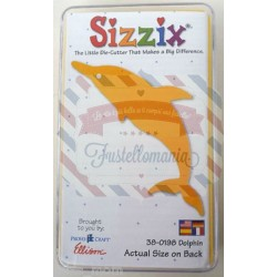 Fustella Sizzix Originals Yellow Delfino
