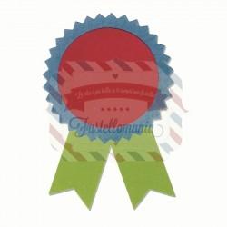 Fustella Sizzix Bigz Award Ribbons