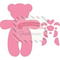 Fustella metallica Marianne Design Collectables Teddy Bear Orso