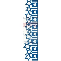 Fustella metallica Marianne Design Collectables Christmas stars