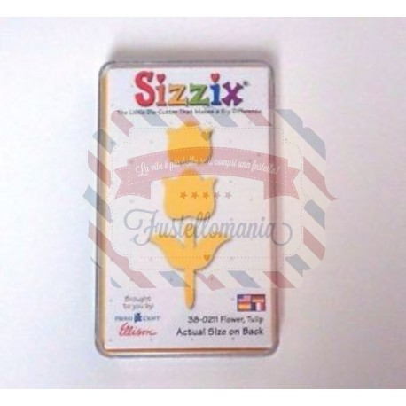 Fustella Sizzix Originals Yellow Tulipano