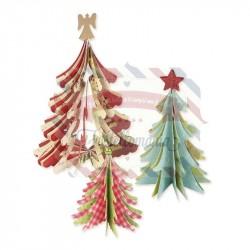 Fustella Sizzix Bigz Alberi di Natale 3D