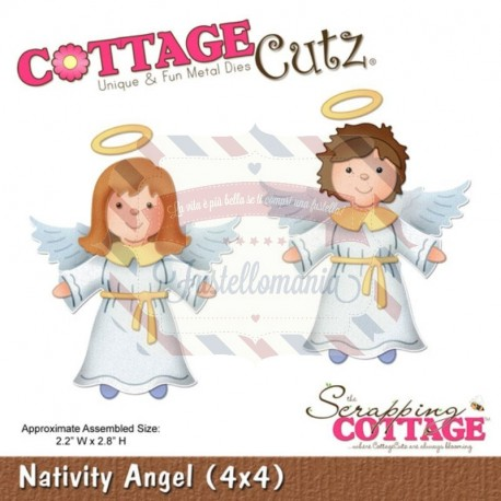 Fustella metallica Cottage Cutz Nativity Angel