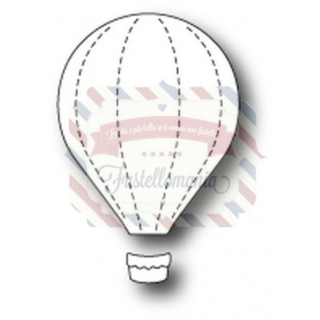 Fustella metallica Memory Little Hot Air Balloon