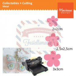 Fustella metallica Marianne Design Collectables Flower Set