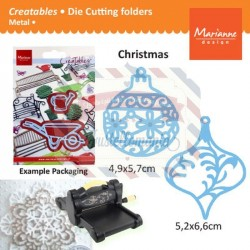 Fustella metallica Marianne Design Creatables Christmas ornaments