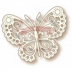 Fustella metallica Butterfly Lace