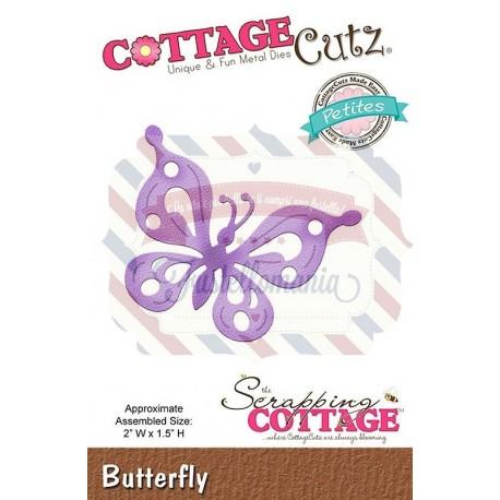 Fustella metallica Cottage Cutz Butterfly
