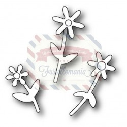 Fustella metallica PoppyStamps Mini Floral Bouquet