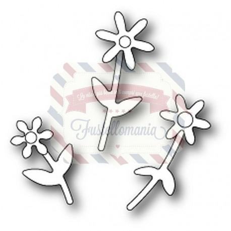 Fustella metallica PoppyStamps Mini Floral Bouquet