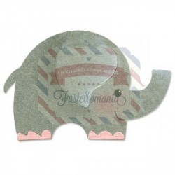 Fustella Sizzix Originals Elefante 2
