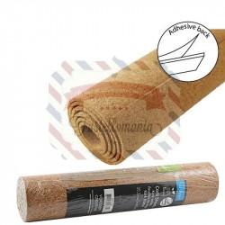 Sughero adesivo in fogli 1 mm 30,5 cm x 2 mt