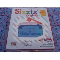 Fustella Sizzix Originals Cassetta postale