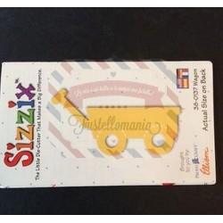 Fustella Sizzix Originals Yellow Vagone
