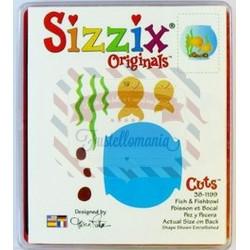 Fustella Sizzix Originals Pesce e acquario