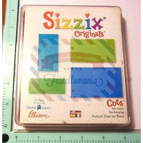 Fustella Sizzix Originals Rectangles