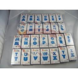 Fustella Sizzix Shadow Box Edizione limitata Set Alfabeto