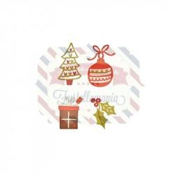 Fustella Sizzix Thinlits Addobbi natalizi