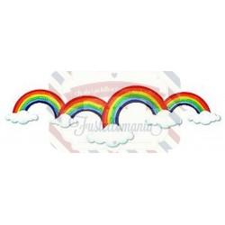 Fustella Sizzix BIGz XL Bordo di arcobaleni