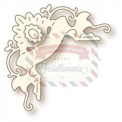 Fustella metallica Vivianna corner